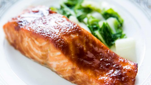 Salmon In Sauce wallpapers high quality