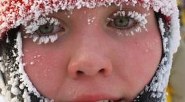 Snowflakes On Eyelashes Image