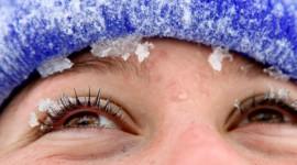 Snowflakes On Eyelashes Photo#1