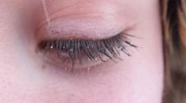 Snowflakes On Eyelashes Photo#2