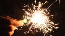Sparklers Wallpaper 1080p