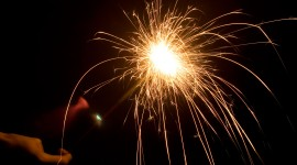 Sparklers Wallpaper Full HD