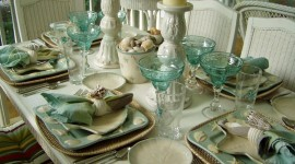 Table Setting High Quality Wallpaper