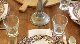 Table Setting Wallpaper For IPhone