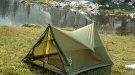 Tent Overnight Desktop Wallpaper For PC