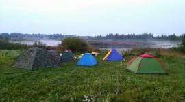 Tent Overnight Desktop Wallpaper Free