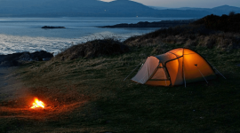 Tent Overnight High Quality Wallpaper