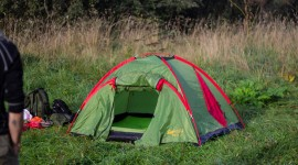Tent Overnight Wallpaper Download Free