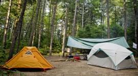 Tent Overnight Wallpaper Full HD