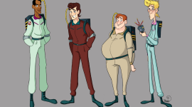 The Real Ghostbusters Wallpaper Free