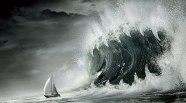 Tsunami Wallpaper High Definition