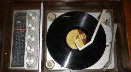 Vinyl Player Desktop Wallpaper