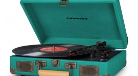 Vinyl Player High Quality Wallpaper