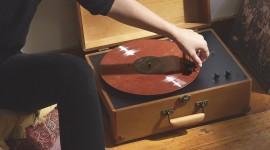 Vinyl Player Wallpaper For IPhone