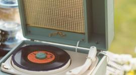 Vinyl Player Wallpaper For IPhone 6