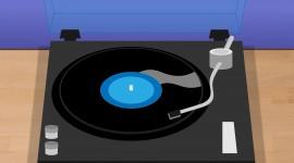 Vinyl Player Wallpaper HQ