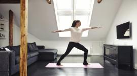 Yoga Room Desktop Wallpaper For PC
