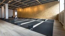 Yoga Room Wallpaper