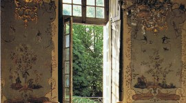 18th Century Interior Wallpaper Background