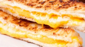 4K Cheese Sandwich Photo Free