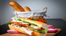 4K Cheese Sandwich Wallpaper Free