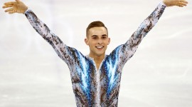 Adam Rippon Aircraft Picture