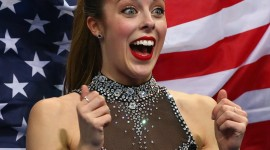 Ashley Wagner Wallpaper For IPhone