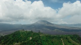 Batur Volcano Desktop Wallpaper For PC