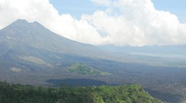Batur Volcano Wallpaper Download Free