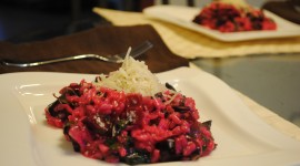 Beetroot Risotto Desktop Wallpaper HD