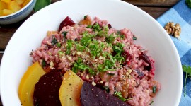 Beetroot Risotto Wallpaper Download