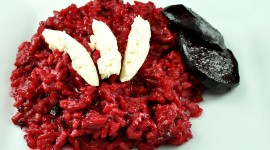 Beetroot Risotto Wallpaper Download Free