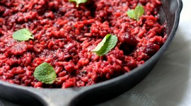 Beetroot Risotto Wallpaper For IPhone Free