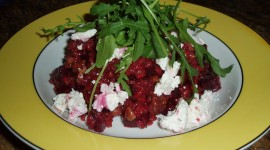 Beetroot Risotto Wallpaper HD