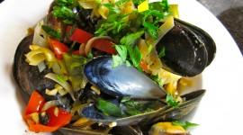 Black Sea Mussels Wallpaper For Desktop
