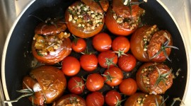 Buckwheat With Tomatoes Wallpaper Download
