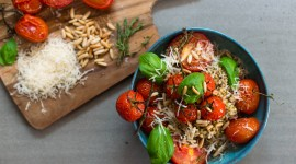 Buckwheat With Tomatoes Wallpaper Gallery