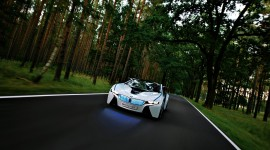 Car In The Forest Wallpaper 1080p