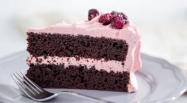 Cherry Cake Desktop Wallpaper For PC