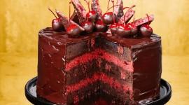 Cherry Cake Wallpaper HD