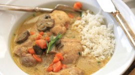 Chicken Fricassee High Quality Wallpaper