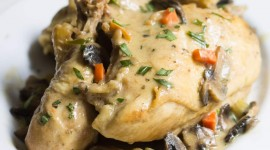 Chicken Fricassee Wallpaper For IPhone Download