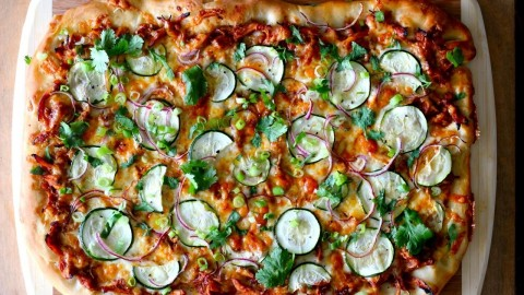 Chicken Squash Pizza wallpapers high quality