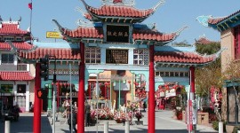 Chinatown Los Angeles Desktop Wallpaper HD