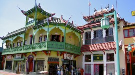 Chinatown Los Angeles High Quality Wallpaper