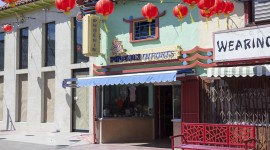 Chinatown Los Angeles Wallpaper Background
