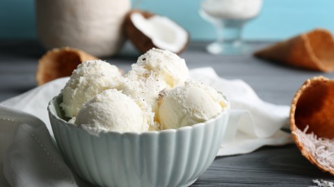 Coconut Ice Cream wallpapers high quality
