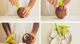 Coconut Opening Wallpaper Full HD