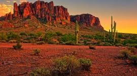 Desert Mountains Best Wallpaper