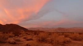 Desert Mountains Desktop Wallpaper HD